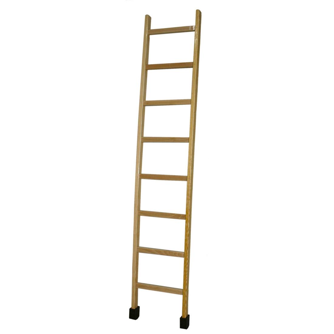 Escaleras de madera de un tramo escaleras navarra for Plano escalera madera